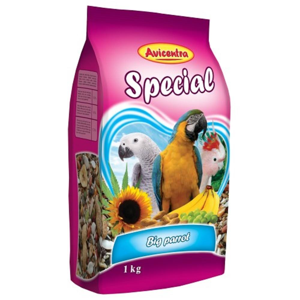 Avicentra speciál velký papoušek 1000g