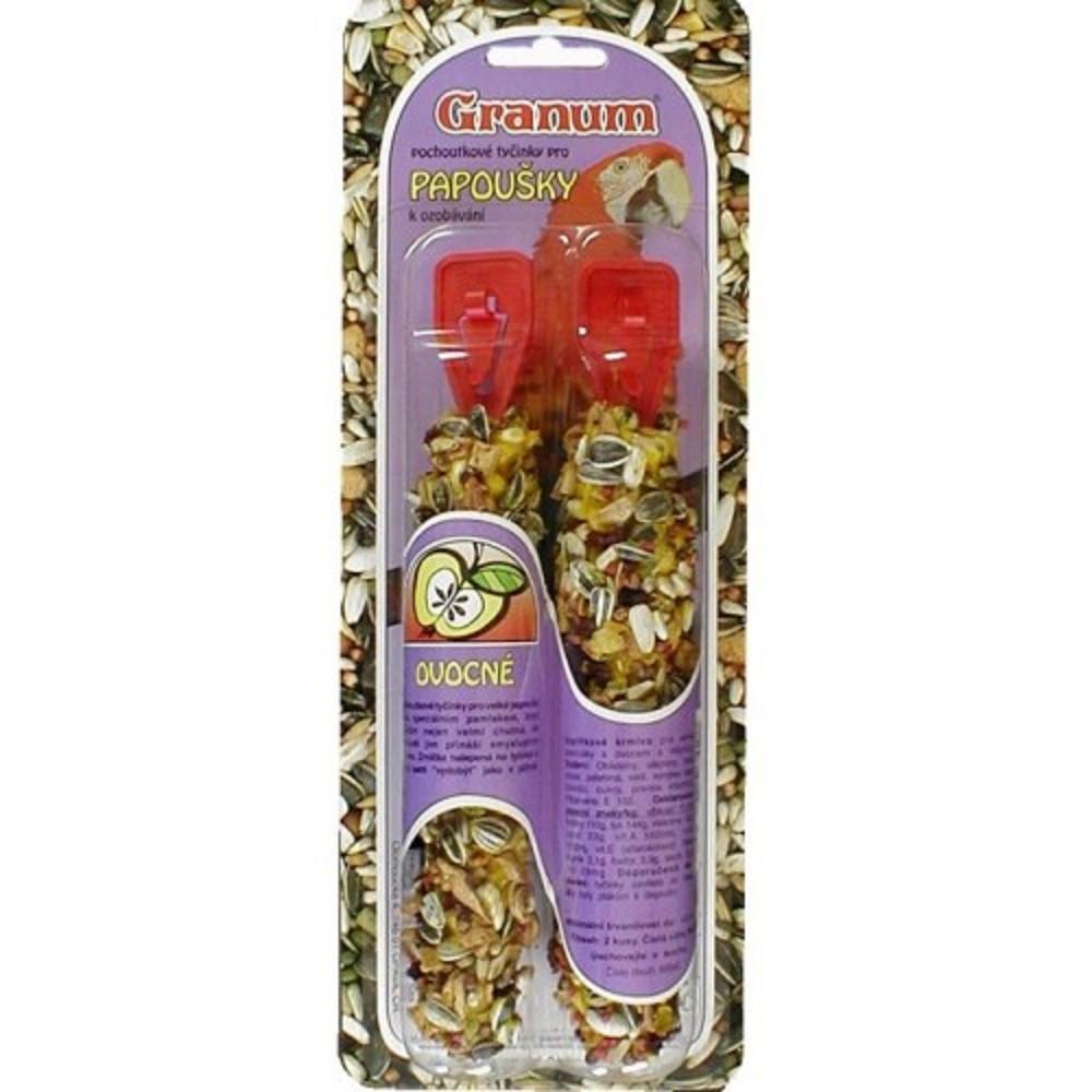 Granum tyč pro papoušky - ovocná 2ks