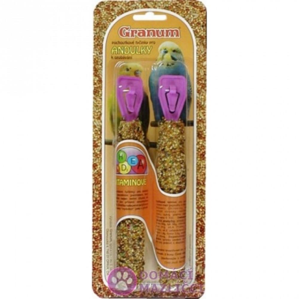 Granum  tyč pro andulky - vitamín 2ks