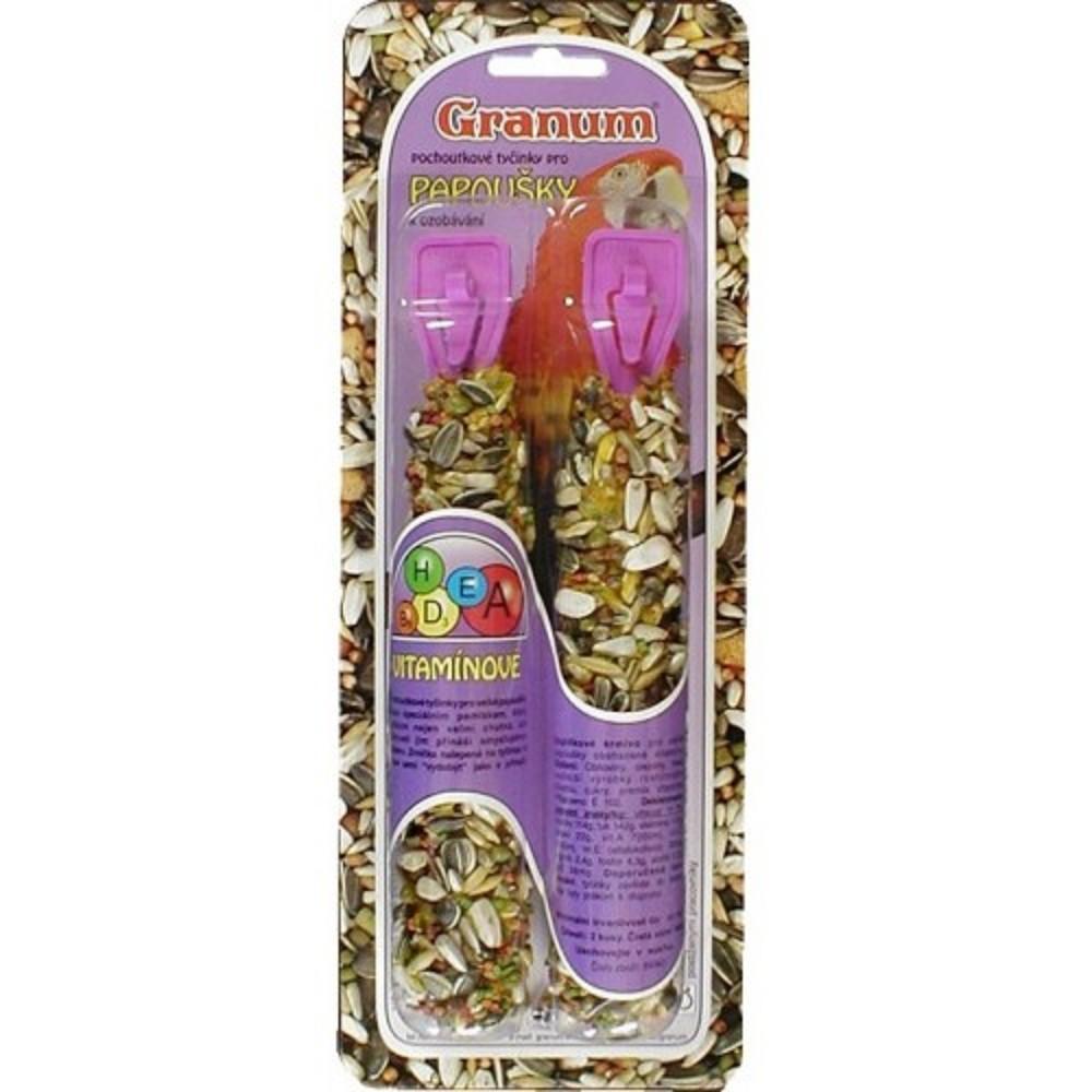 Granum tyč pro papoušky - vitamová 2ks