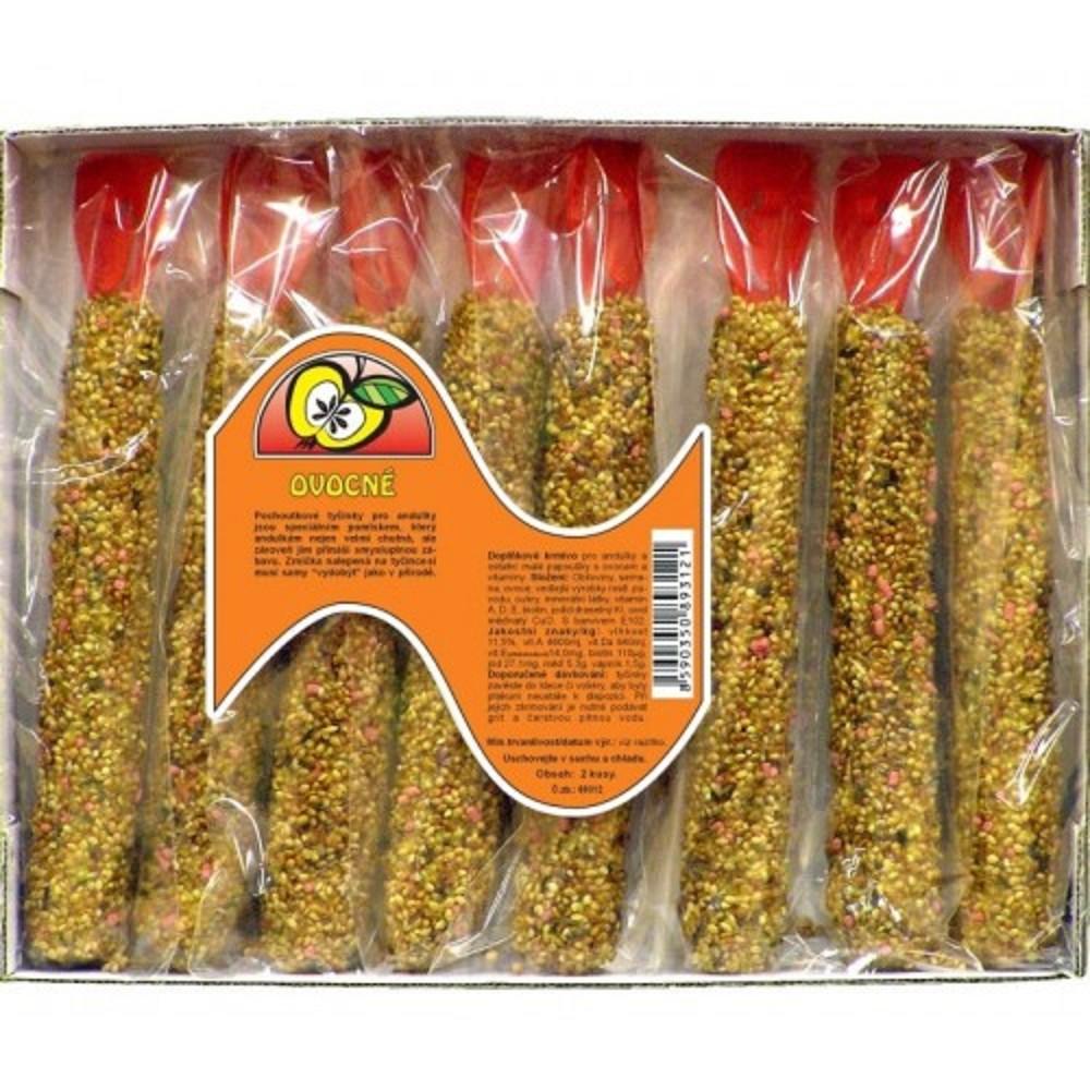 Granum  tyč pro andulky - ovocná 8ks