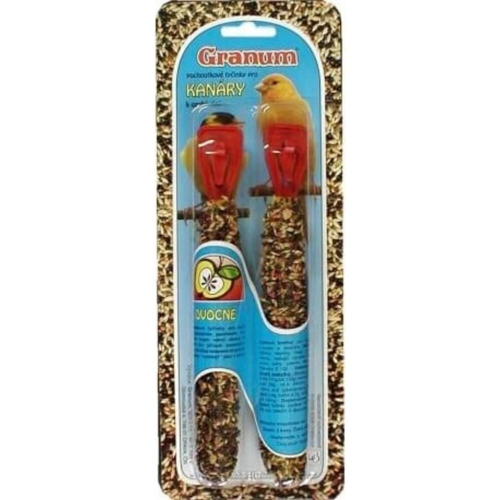 Granum tyč pro kanárky - ovocná 2ks