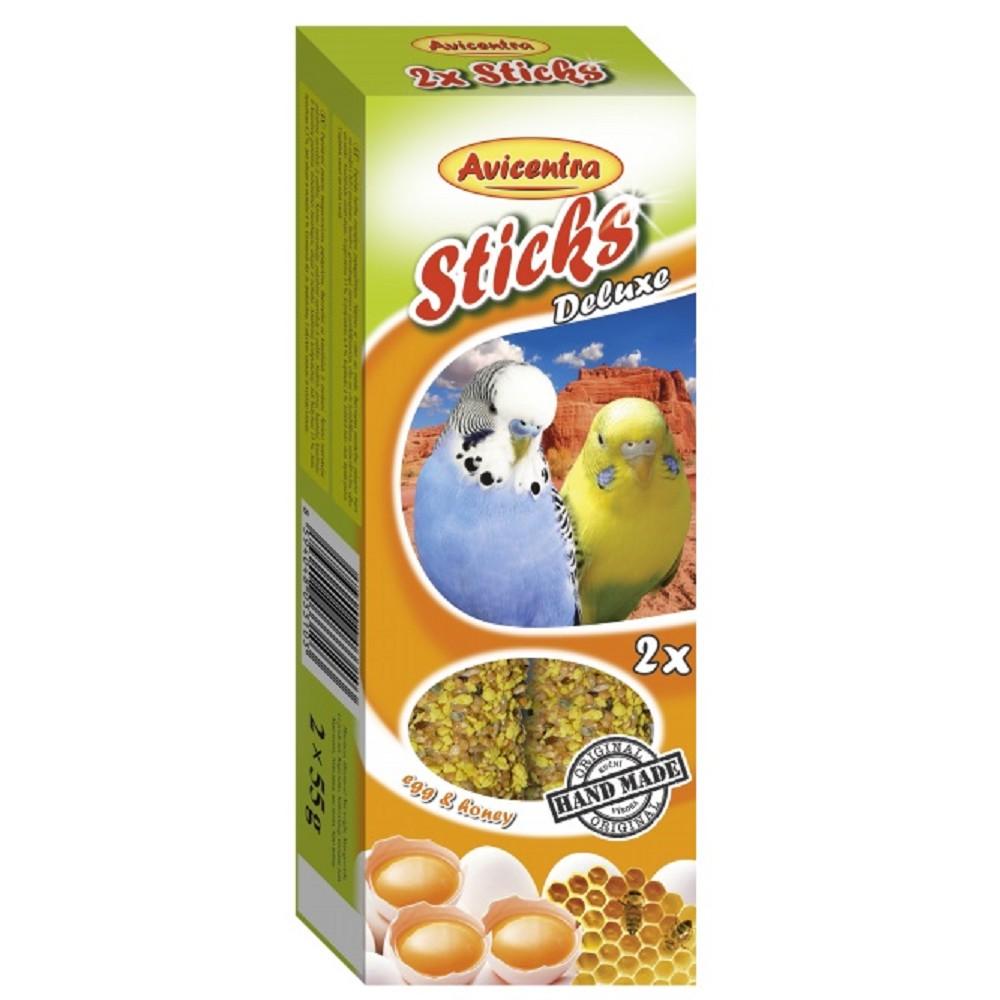 Avicentra tyč pro andulky - vejce s medem 2ks