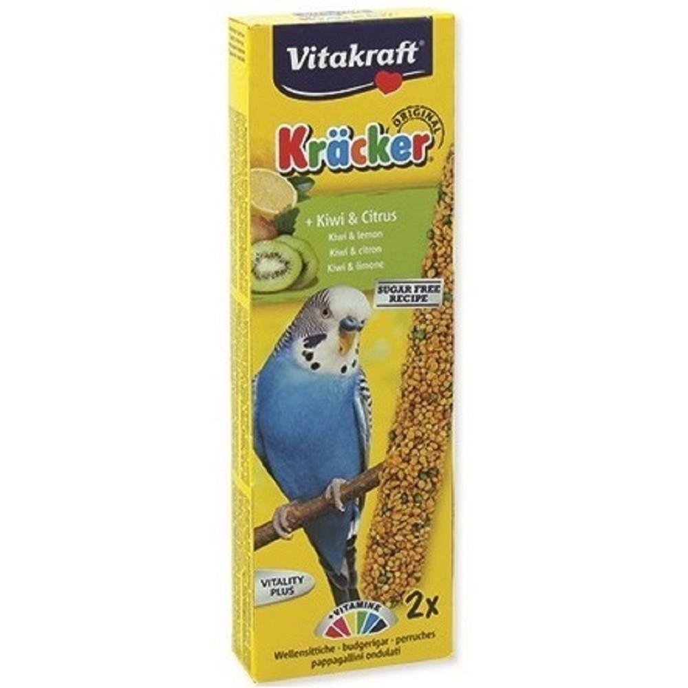 Kräcker tyč pro andulky - kiwi s citrusem 2ks