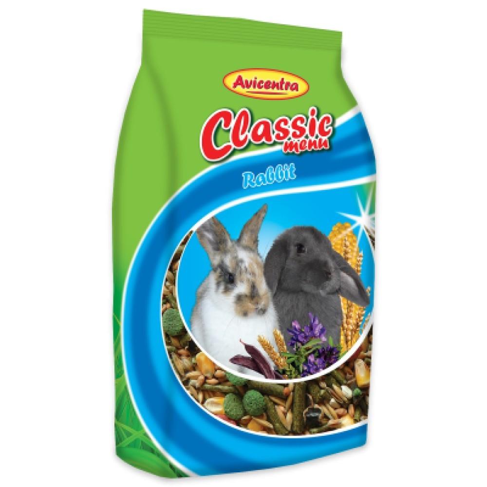 Avicentra classic králík 500g
