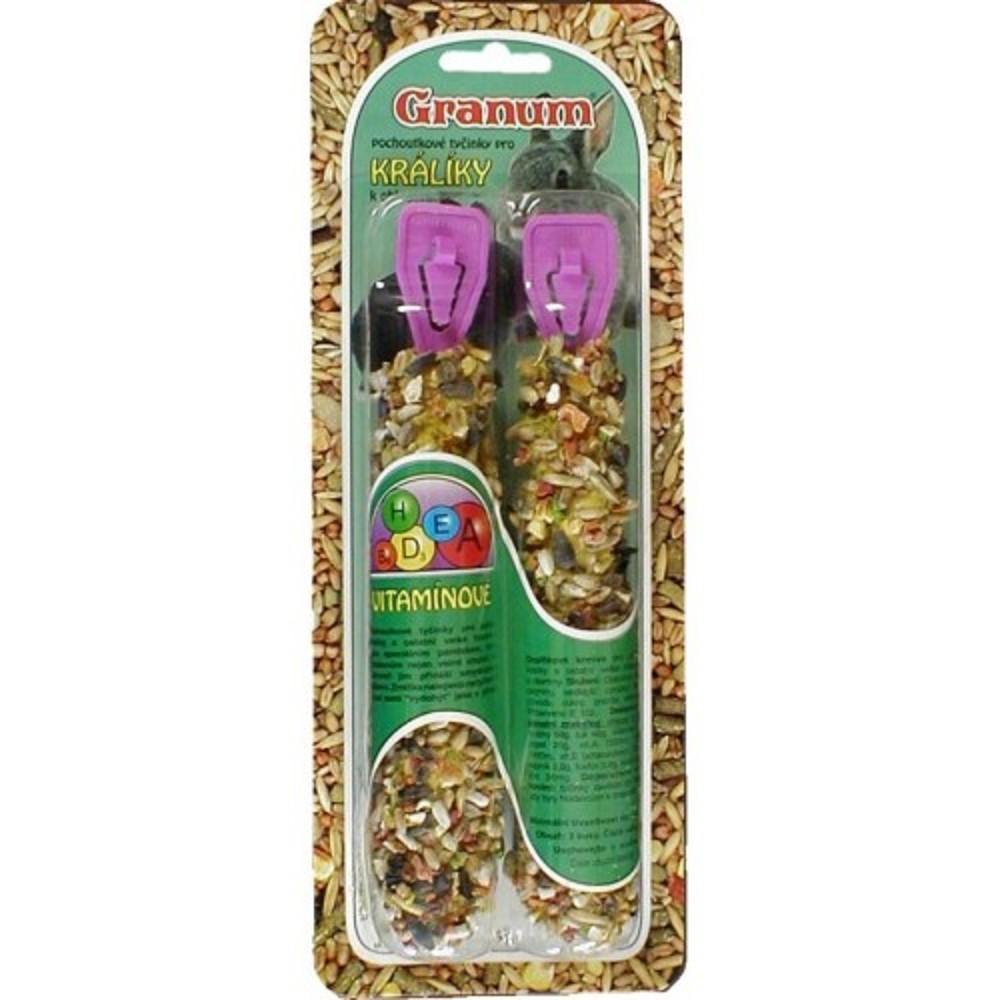 Granum tyč pro králíčky - vitamínová 2ks