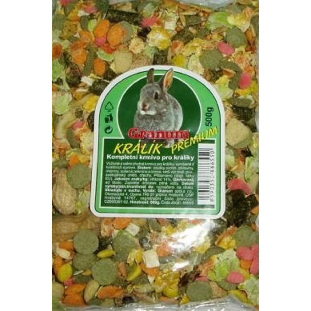 Granum premium králík 500g