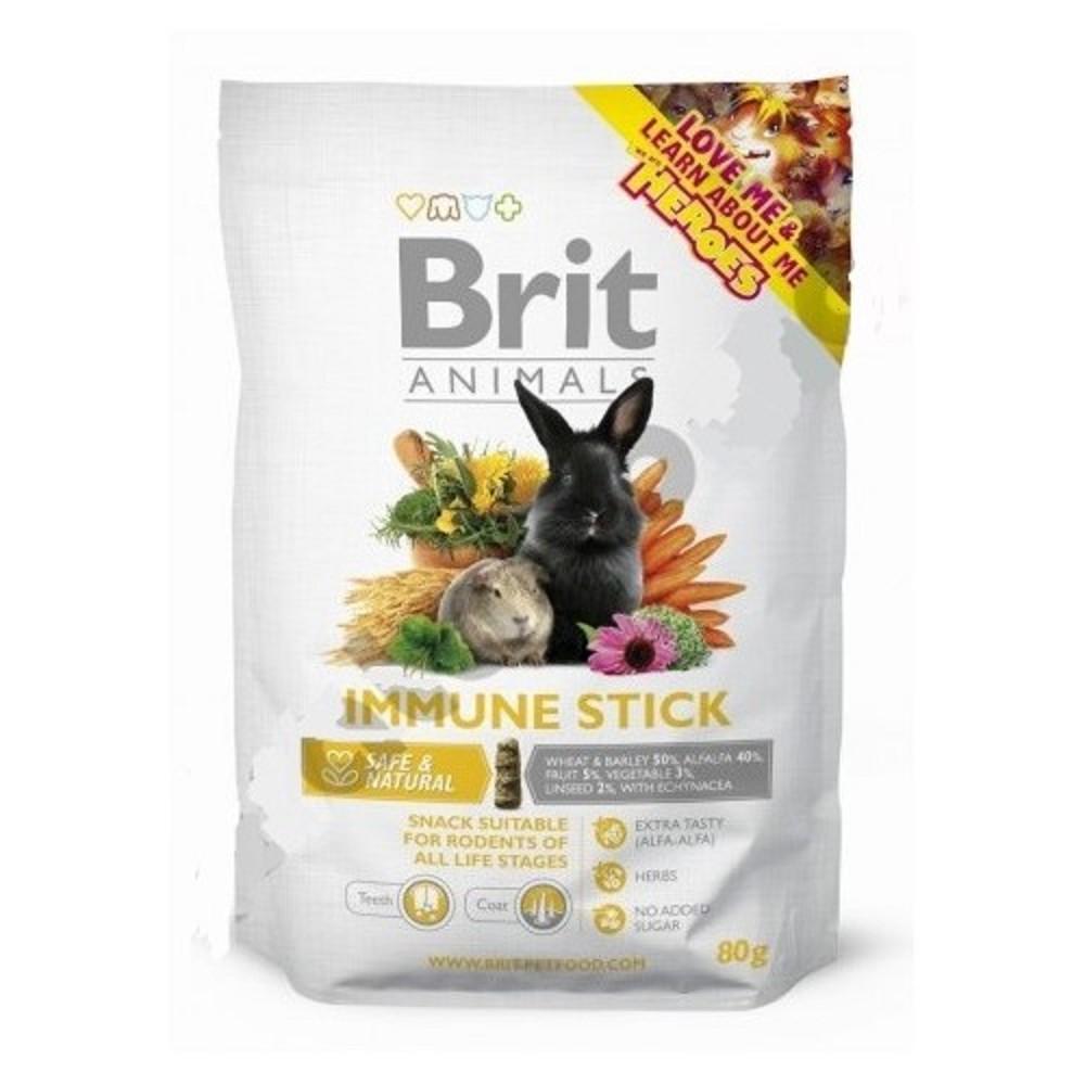 Brit animals pamlsek na imunitu 80g