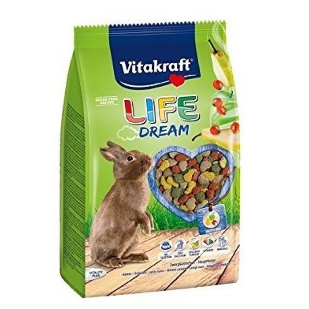 Vitakraft Life Dream králík 600g