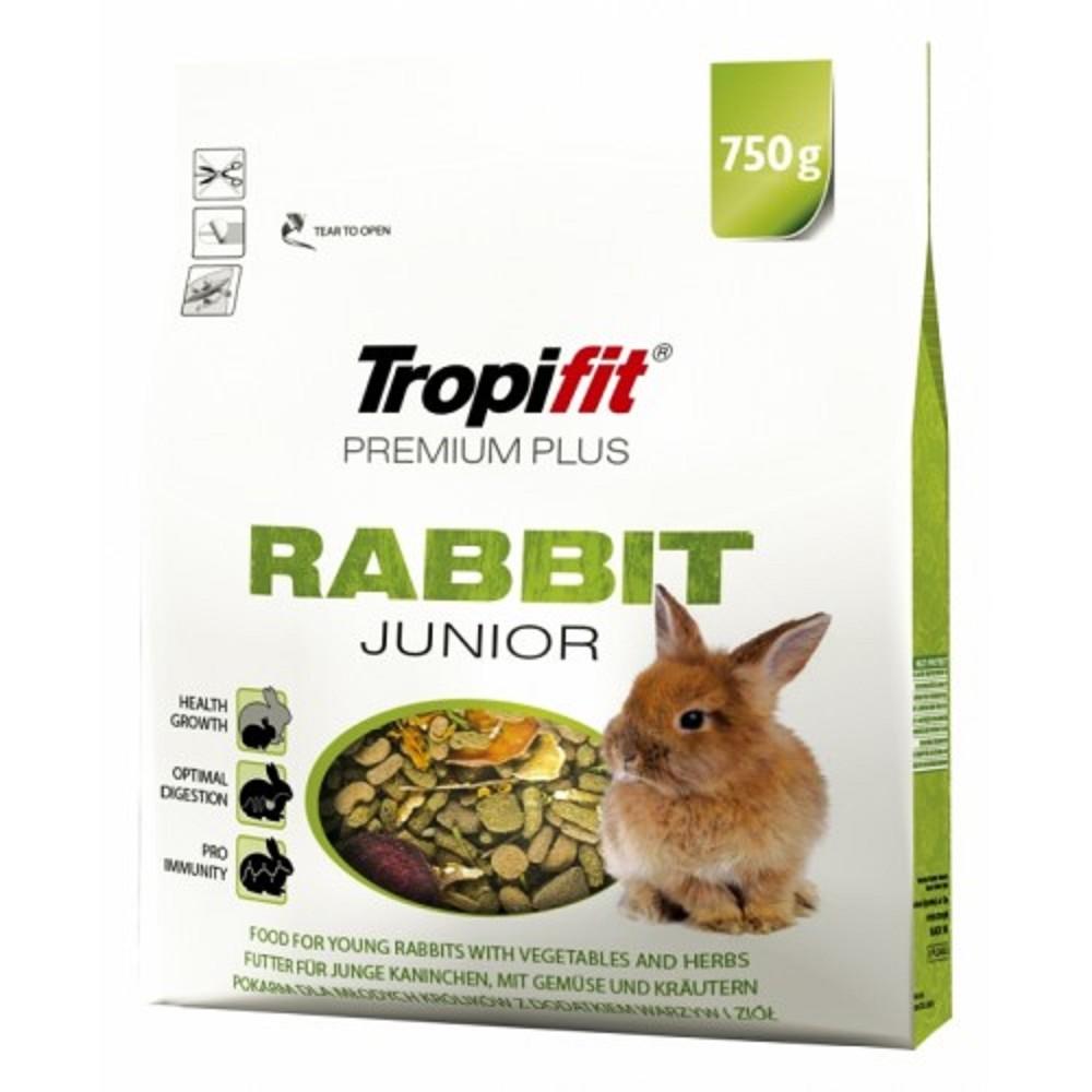 Tropifit premium plus pro králíky junior 750g