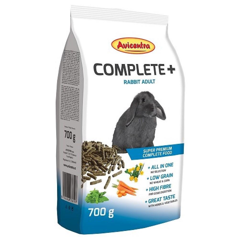 Avicentra COMPLETE+ 700g - králík adult