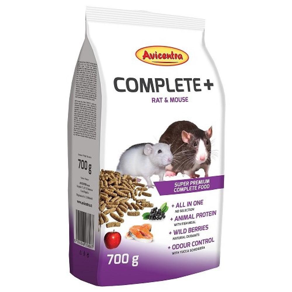 Avicentra COMPLETE+ 700g - potkan + myš