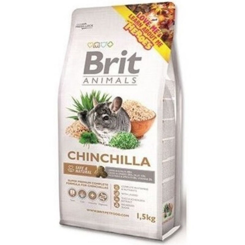 Brit animals činčila 1,5kg