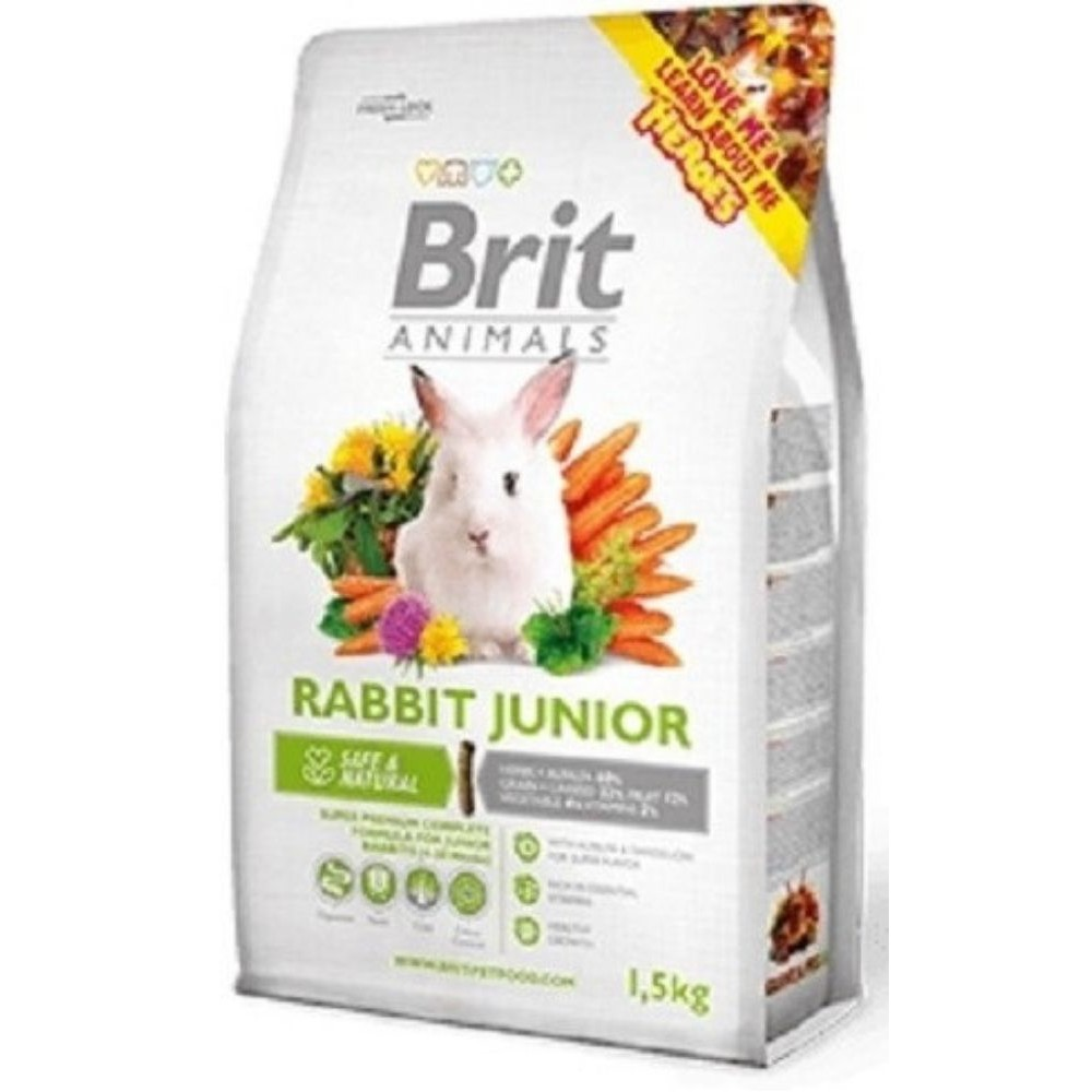 Brit animals králík junior 300g