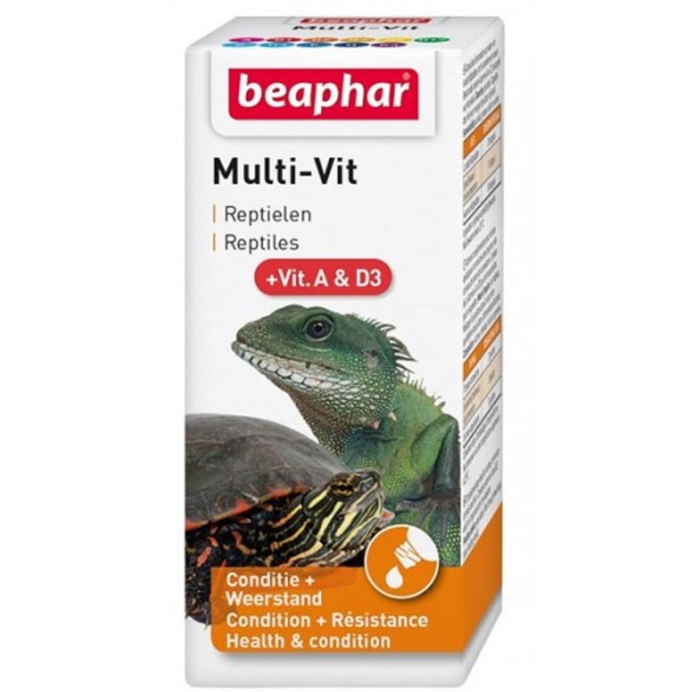 Multi-vit kapky pro terarijní zvířata a ryby 20ml