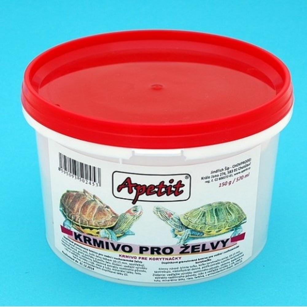 Apetit granule pro želvu 150g