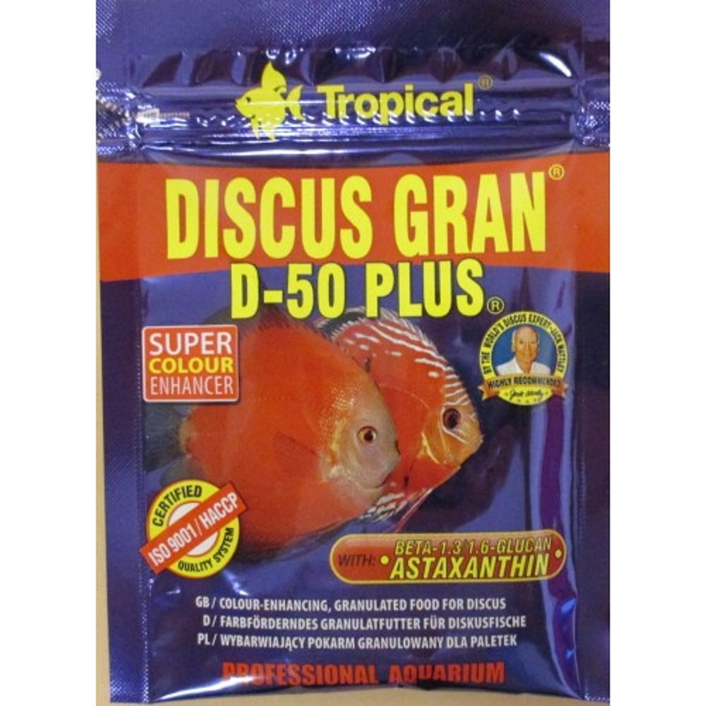 Tropical Discus Gran D-50 Plus 20g