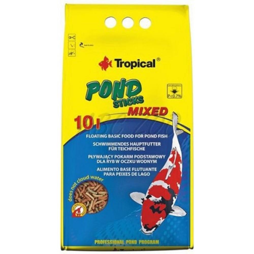 Tropical pond sticks mixed 10l