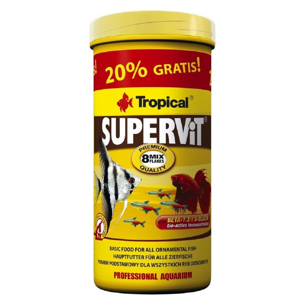Tropical Supervit - vločky 500ml+20% zdarma