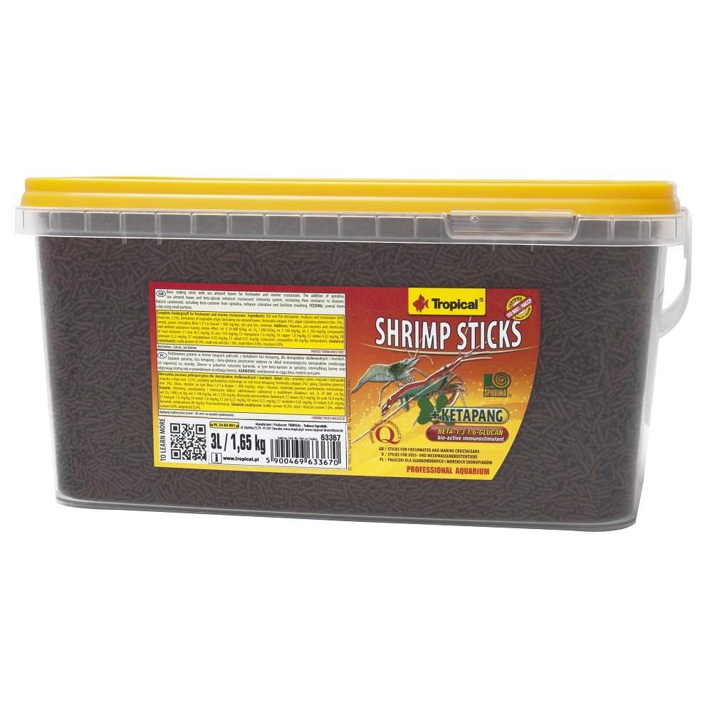 Tropical Shrimp sticks 3l/1,65kg