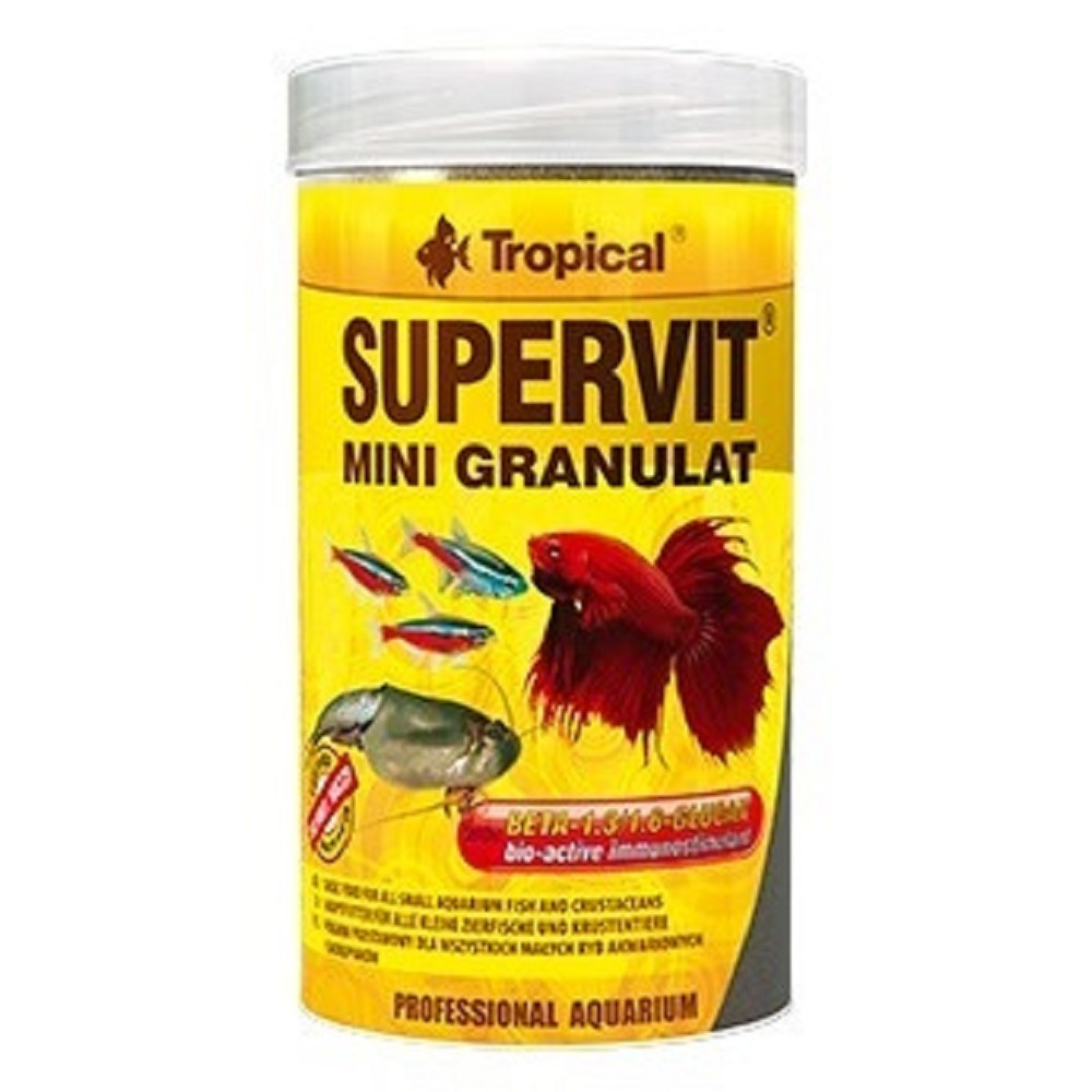 Tropical Supervit Mini - granulát 250ml