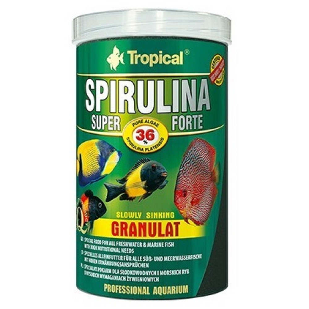 Tropical spirulina super forte - granulát 250ml