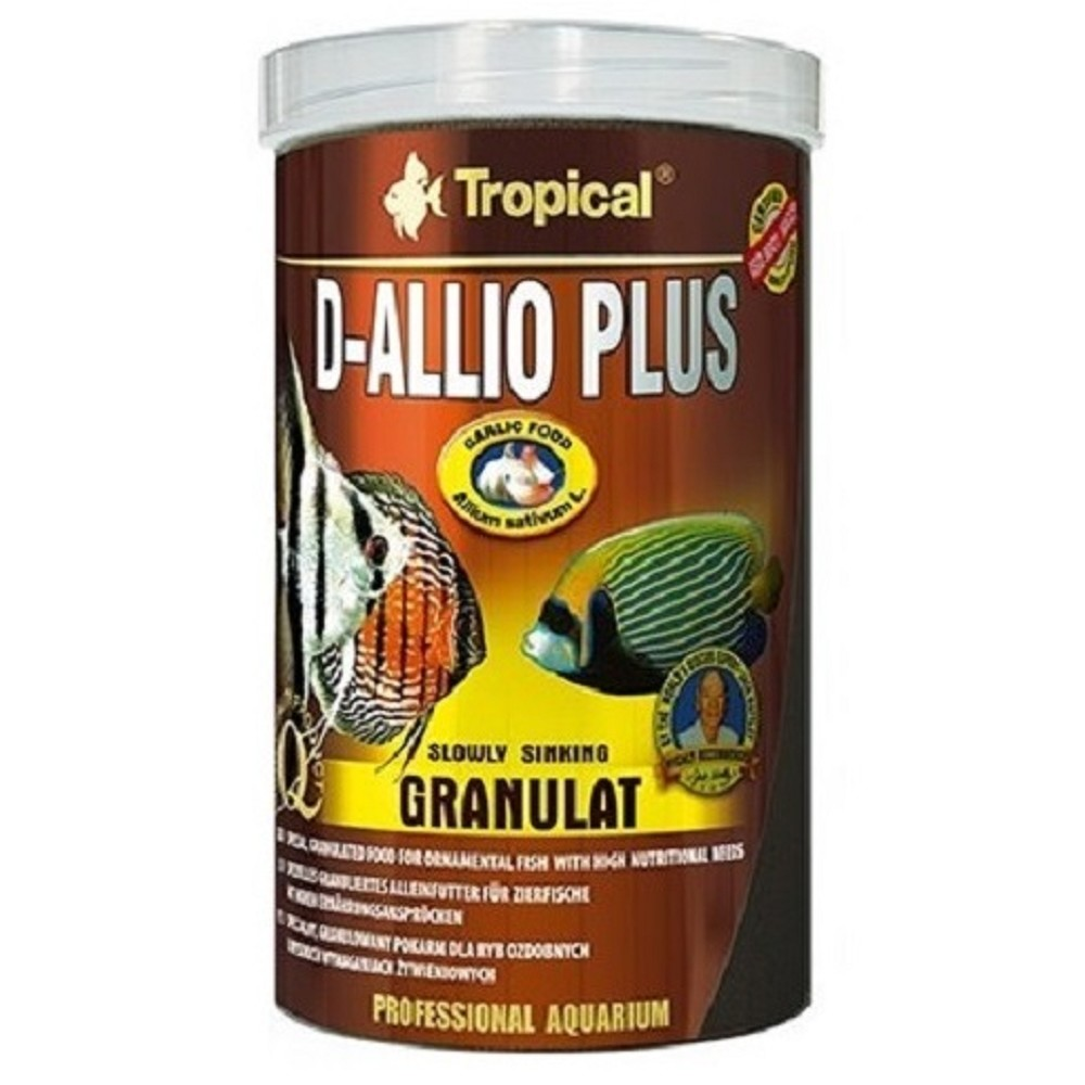 Tropical D-Allio Plus - granulát 100ml