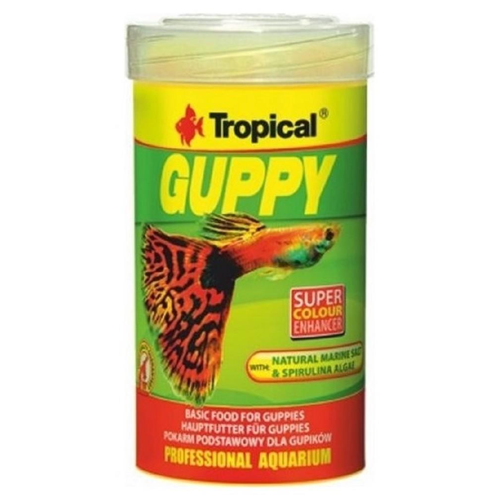 Tropical Guppy - vločky 100ml