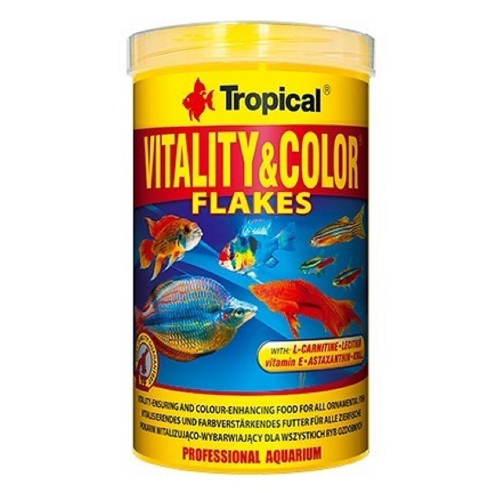 Tropical vitality-color -  vločky 250ml
