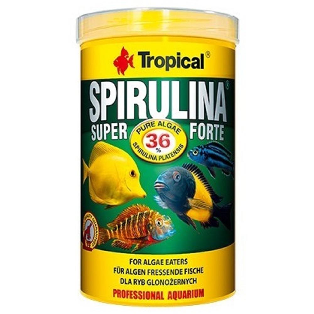 Tropical spirulina super forte - vločky 250ml
