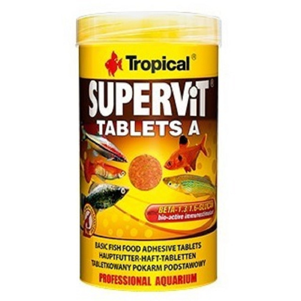 Tropical supervit - tablety na sklo 250ml