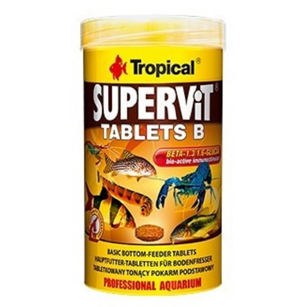 Tropical supervit - tablety na dno 250ml