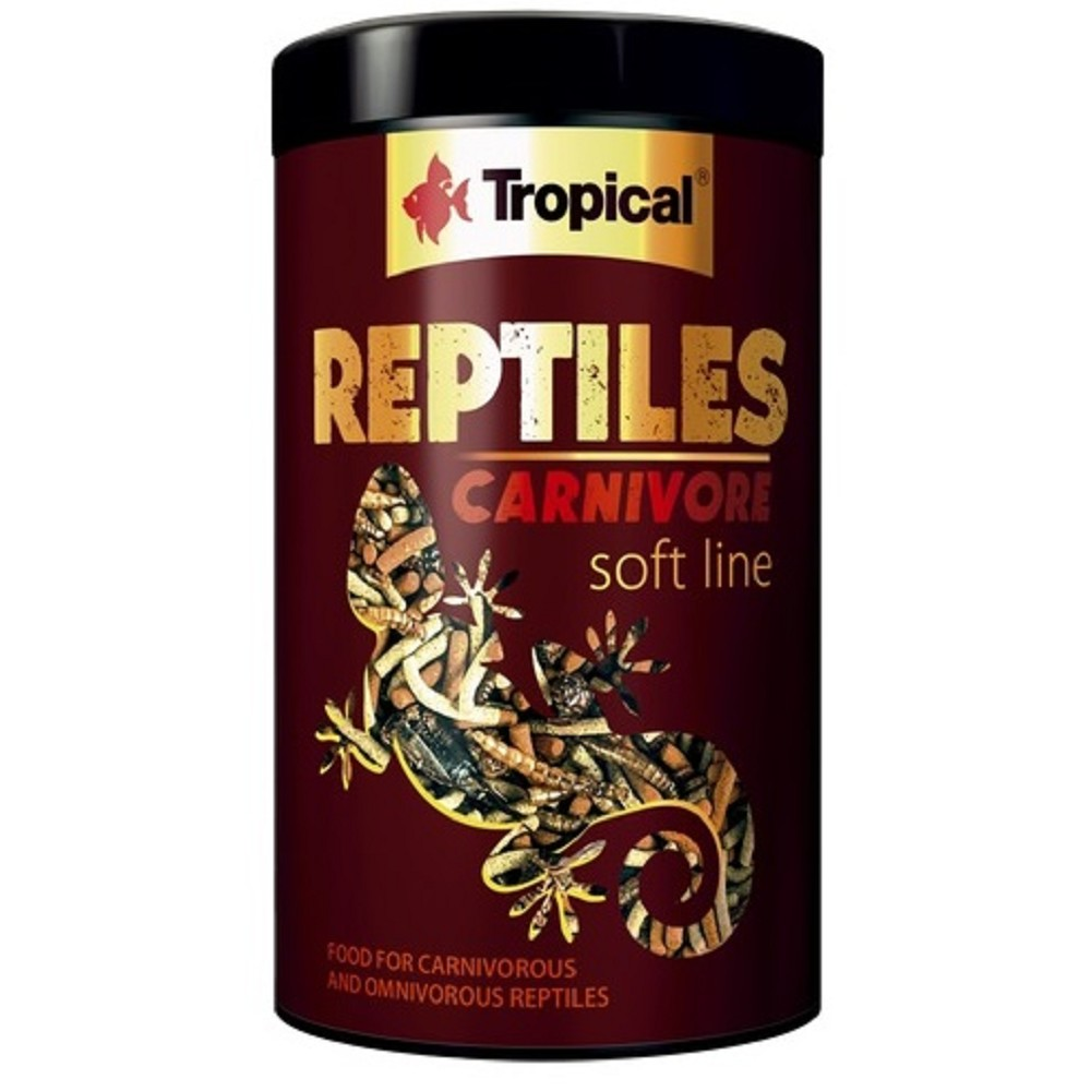 Tropical reptiles carnivore soft 250ml