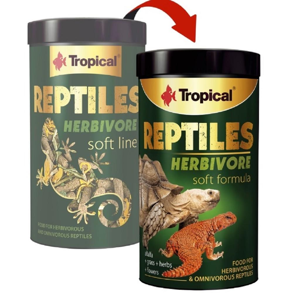 Tropical reptiles herbivore soft 250ml