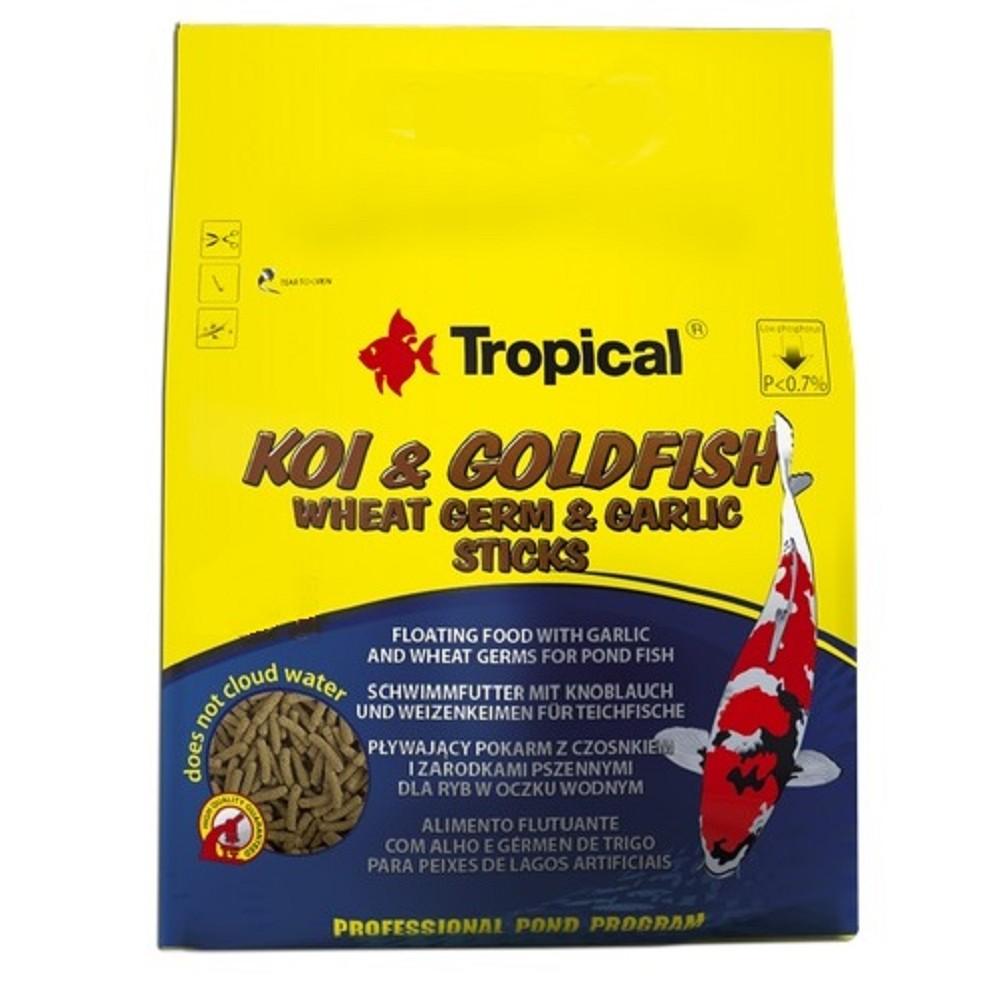 Tropical Koi - Goldfish weat germ&garlic sticks 1000ml