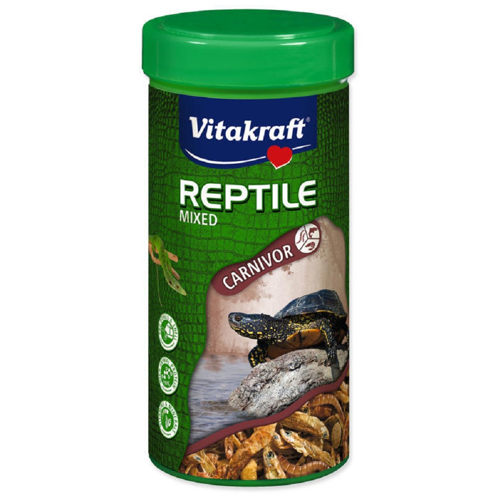 Vita reptile mixed - Carnivore 250ml