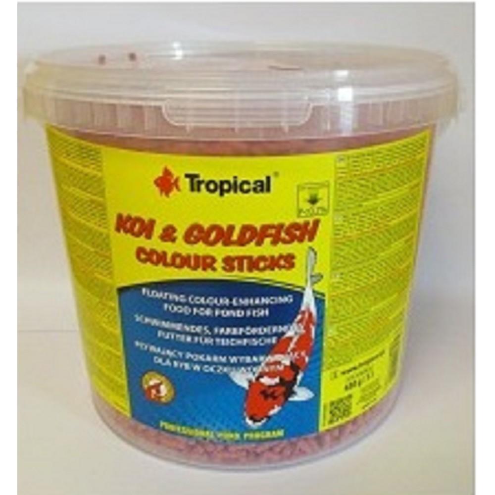 Tropical Goldfish Colour Sticks 11l vědro