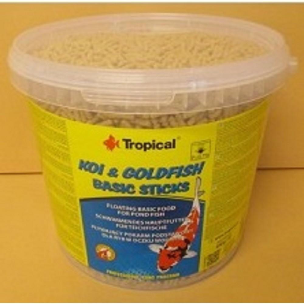 Tropical Koi-Goldfish Basic Sticks 5l/430g
