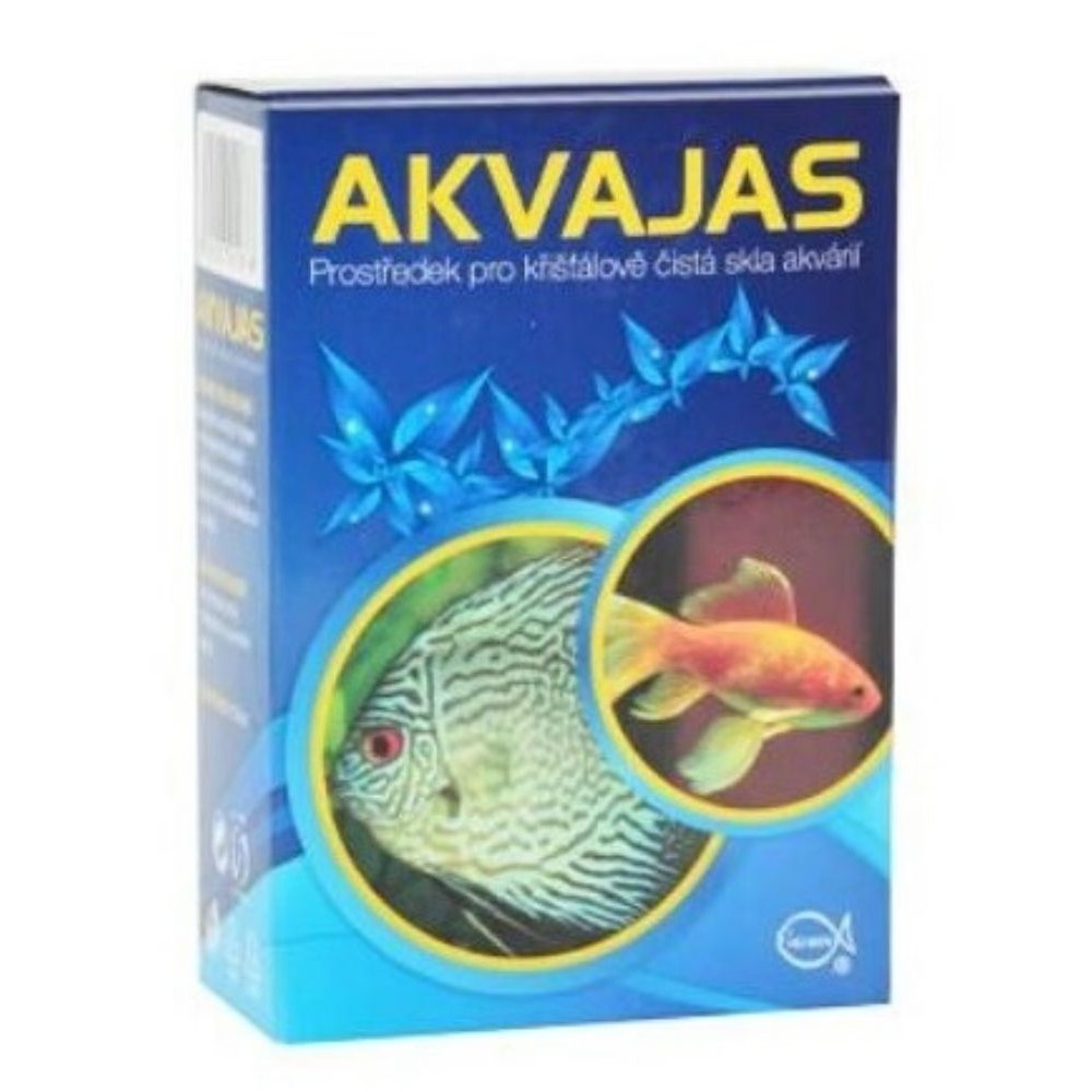 Akvajas - prostředek na čištění akvarií 130ml