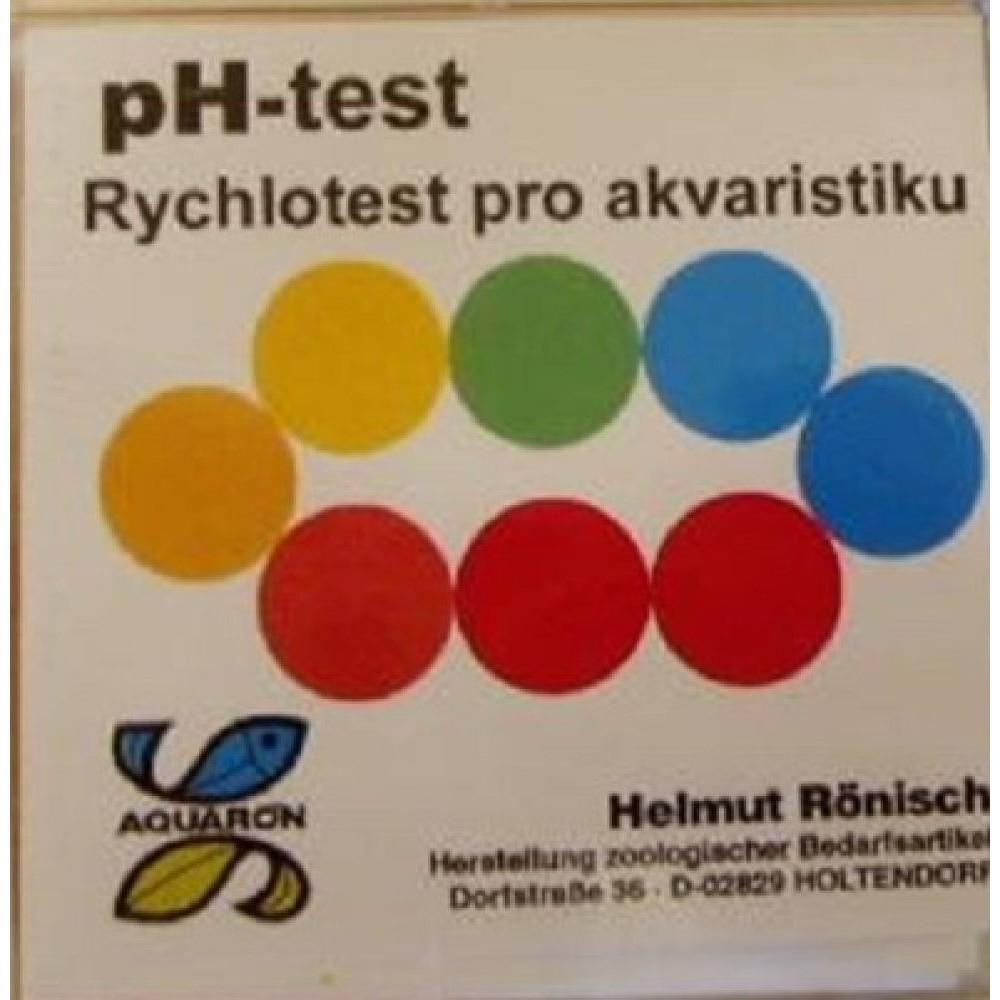 Test pH - rychlotest pro akvaristiku