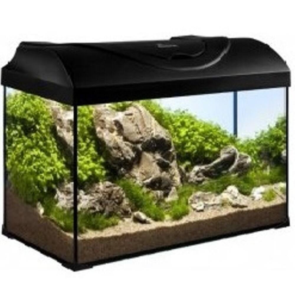 Akvárijní sada 50cm/37,5l s LED osv.10W - černý kryt