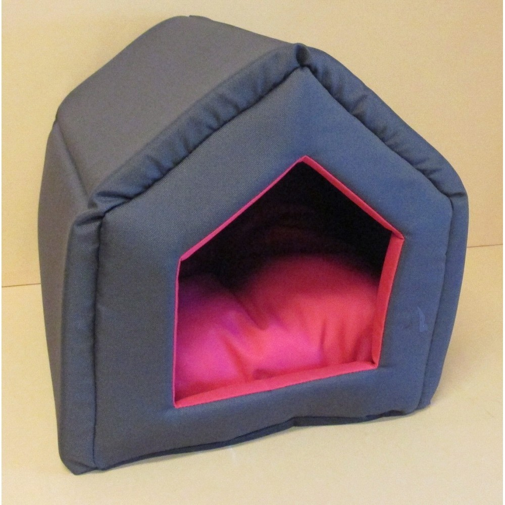 Domek s polštářem Basic Duo 40x33x35cm