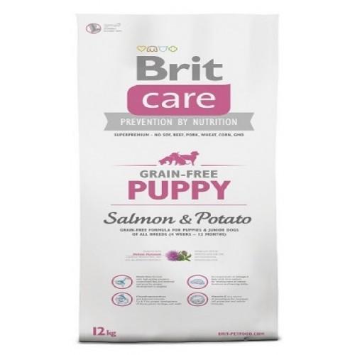 BRIT CARE 1,0KG GRAIN-FREE PUPPY SALMON+POTATO