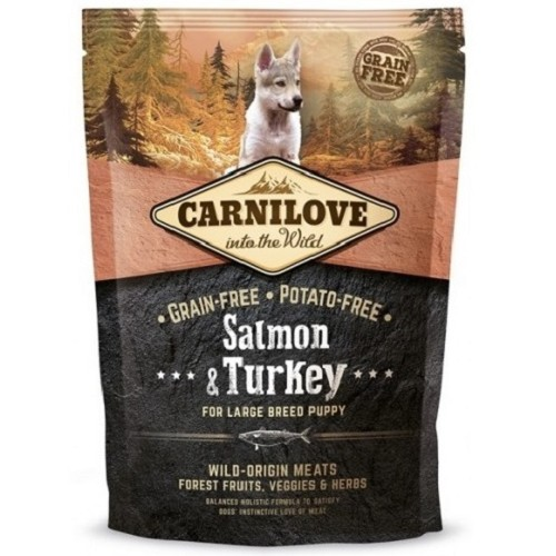 Carnilove Dog Puppy LB Salmon & Turkey 1,5 kg