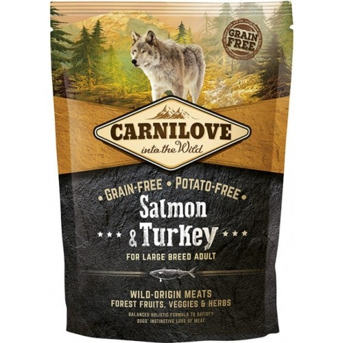 Carnilove Dog Salmon & Turkey for Large Breed Adult 1,5 kg