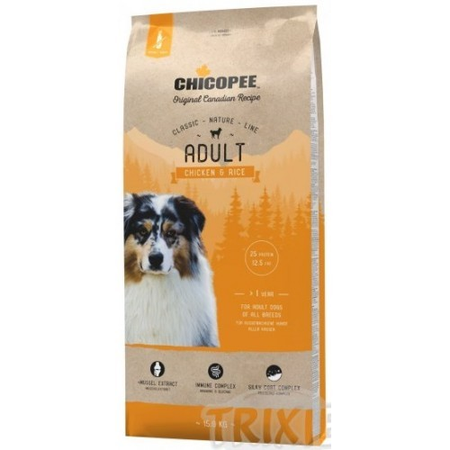 Chicopee Classic Nature Adult Chicken & Rice 15 kg