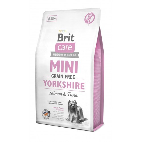 Brit Care Adult mini Yorkshire Grain Free salmon & tuna 2 kg
