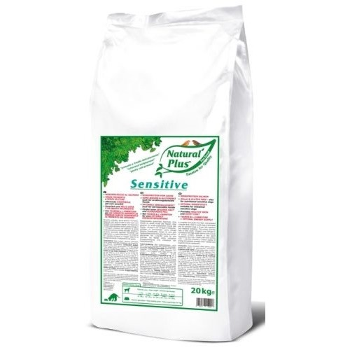 Natural Plus Sensitive 20kg lisováno za studena (960516 A)