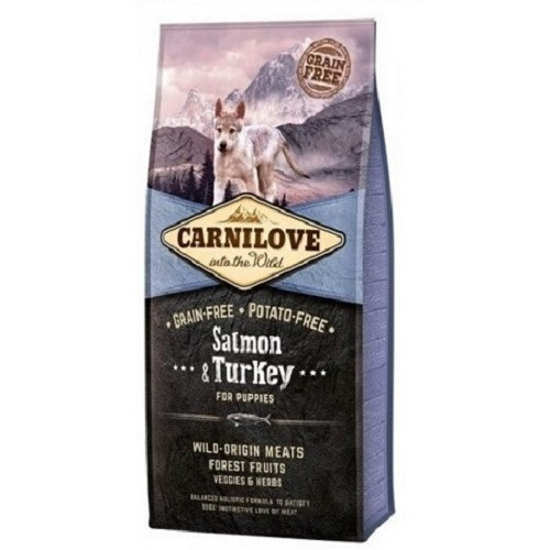 Carnilove Dog Puppy Salmon & Turkey 12 kg