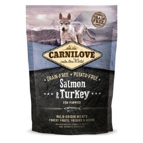Carnilove Dog Puppy LB Salmon & Turkey 1,5 kg